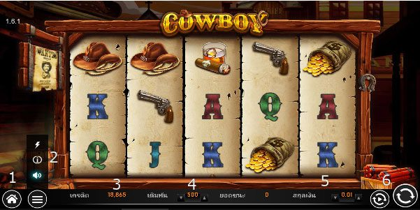 How to play cowboy slot
