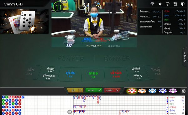 How to make a money playing baccarat